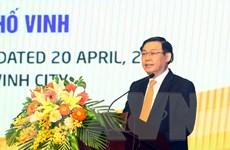 Phó Thủ tướng Vương Đình Huệ dự hội nghị phát triển Thành phố Vinh