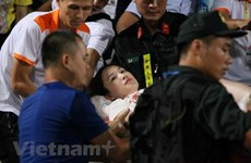 TP Hà Nội yêu cầu đảm bảo an ninh cho các trận đấu trên sân Hàng Đẫy