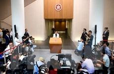 Chính quyền Hong Kong kêu gọi giải quyết vấn đề thông qua đối thoại