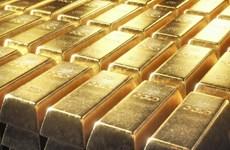 Giá vàng châu Á giảm xuống gần mức thấp nhất hai tháng qua