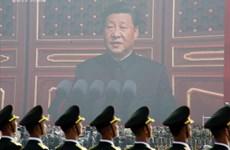 Các thế hệ lãnh đạo Trung Quốc tham dự duyệt binh kỷ niệm Quốc khánh