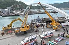 Đài Loan: Phát hiện thi thể các nạn nhân trong vụ sập cầu