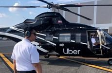 """Mỹ: Uber triển khai dịch vụ """"taxi bay"""" tại New York"""