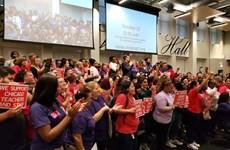 Mỹ: Hơn 30.000 giáo viên thành phố Chicago đe dọa đình công