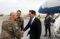 Nhiều lãnh đạo Mỹ có các chuyến thăm bất ngờ tới Afghanistan