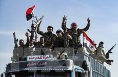 Quân đội Syria triển khai tới nhiều vị trí chiến lược ở Raqqa