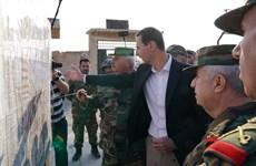 Tổng thống Syria lần đầu thăm Idlib kể từ khi nổ ra chiến sự