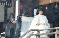 Nhật hoàng Naruhito tiến hành các nghi thức chuẩn bị cho lễ đăng quang