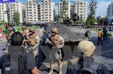 Biểu tình bạo lực tại Chile khiến ít nhất 12 người thiệt mạng