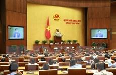 Các đại biểu cho ý kiến về dự án sửa đổi Luật Tổ chức Chính phủ