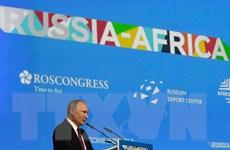 Tổng thống Nga khẳng định ưu tiên phát triển quan hệ với châu Phi