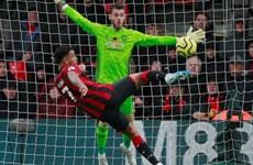 'Người cũ' Joshua King chấm dứt mạch chiến thắng của Manchester United