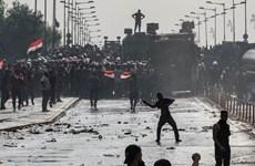 Iraq: Biểu tình tại thành phố cảng khiến hàng trăm người bị thương
