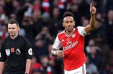 Pierre-Emerick Aubameyang cán mốc 50 bàn thắng cho Arsenal