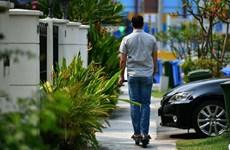 Singapore có thể phạt tù người sử dụng xe trượt điện trên lối đi bộ