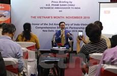 Việt Nam nỗ lực quảng bá hình ảnh, tiềm năng kinh doanh tại Ấn Độ
