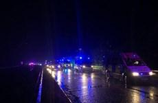 Cảnh sát Anh bắt xe tải khả nghi chở 15 người nhập cư trái phép