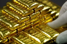 Giá vàng châu Á tăng do lo ngại căng thẳng thương mại Mỹ-Trung