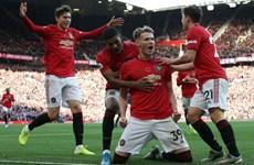 Premier League: M.U thi đấu thăng hoa, City thất bại chóng vánh