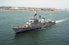 Hải quân Hàn Quốc hạ thủy tàu khinh hạm mới FGG-II Seoul