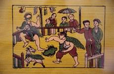 Chiêm ngưỡng những nét đẹp tranh dân gian Đông Hồ xưa và nay