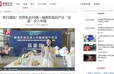 Truyền thông Trung Quốc nhận xét tích cực sự kiện Vinamilk 'chào sân'