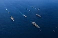 Mỹ cùng 3 nước đồng minh tập trận tại Tây Thái Bình Dương