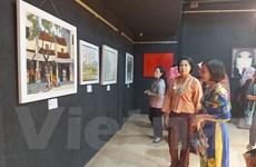 Triển lãm trưng bày tác phẩm của 7 họa sỹ Việt Nam tại Ấn Độ