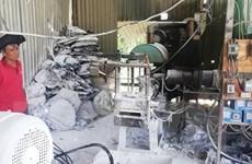 Đắk Nông: Xử phạt cơ sở tái chế nhựa gây ô nhiễm môi trường