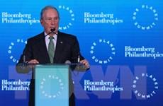 Bầu cử Mỹ 2020: Tỷ phú Bloomberg nhận được sự ủng hộ lớn