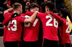 Đội hình 'tuổi teen' của Manchester United thua ngược trước Astana