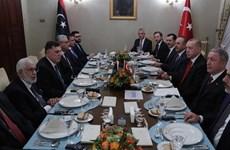 Thổ Nhĩ Kỳ, Libya ký thỏa thuận về hợp tác an ninh, quân sự