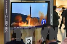 Nhật Bản xác định vật thể bay của Triều Tiên rơi bên ngoài vùng EEZ
