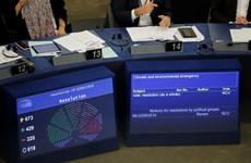 EP tuyên bố tình trạng khẩn cấp về môi trường và khí hậu