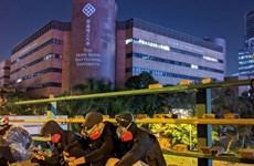 Cảnh sát thu giữ hàng nghìn bom xăng tại Đại học Bách khoa Hong Kong