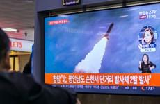 Hàn Quốc-Nhật Bản-Mỹ điện đàm về vụ phóng vật thể của Triều Tiên