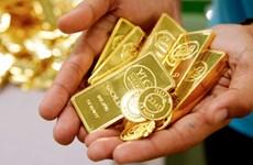 Giá vàng châu Á giảm sau khi chạm mức cao nhất trong hơn một tuần