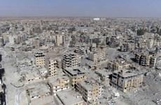 Syria: Quân đội Nga lần đầu tiên tiến vào thành phố Raqqa