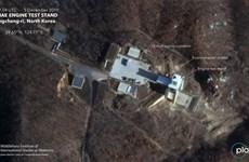 Chuyên gia: Hình ảnh vệ tinh cho thấy Triều Tiên thử động cơ tên lửa