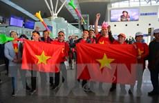 Nhiều cổ động viên sang Philippines cổ vũ đội tuyển U22 Việt Nam