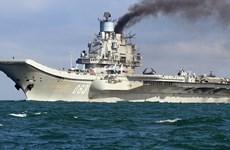 Tàu sân bay duy nhất của Nga bị cháy trong quá trình bảo dưỡng