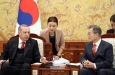 Hàn Quốc tìm cách thúc đẩy quan hệ kinh tế với Thổ Nhĩ Kỳ