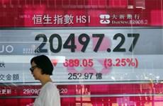 Chứng khoán châu Á tăng điểm sau khi Fed thông báo giữ nguyên lãi suất