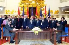 Quan hệ thương mại Việt Nam-Hoa Kỳ tăng trưởng mạnh mẽ sau 25 năm