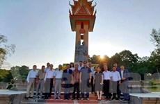 Campuchia tri ân liệt sỹ quân tình nguyện Việt Nam tại Preah Sihanouk