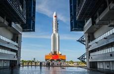 Trung Quốc chuẩn bị phóng tên lửa đẩy Trường Chinh 5