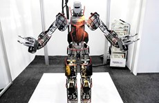 Nhật Bản: Kawasaki ra mắt robot chuyên dùng cho công tác cứu hộ