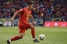 """Bóng đá Bỉ bầu chọn Eden Hazard làm """"Quỷ đỏ của năm 2019"""""""