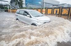 Indonesia: Lũ lụt ở Jakarta khiến các nhà bán lẻ thiệt hại nặng nề