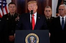 Ông Trump tuyên bố sẽ trừng phạt kinh tế Iran thay vì dùng vũ lực